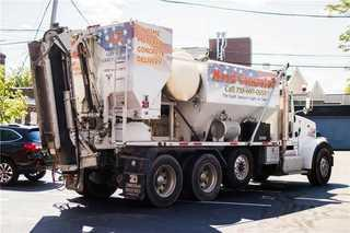 Our truck is specifically designed to create freshly mixed concrete with the PSI to ensure the project has the correct amount to complete the work.