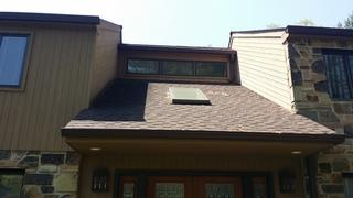 This 30-year-old siding was beginning to show rot damage so replacing asap was a great call.