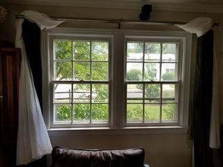 The seals on these windows were broken and needed a replacement with a durable frame for longterm, reliable performance.