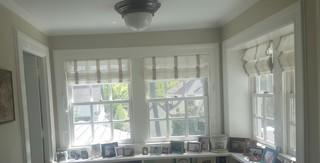 For sunrooms, energy efficiency matters with the windows. These drafty windows needed replacement.