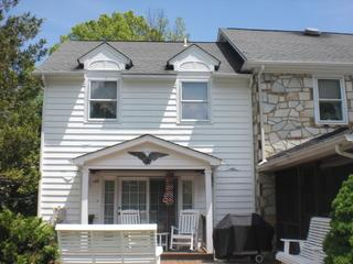 These homeowners were tired of the maintenance required with wood siding.