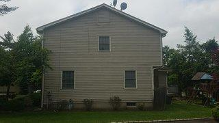 The wood siding on this home began seeing rot damage and needed a reliable replacement.