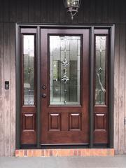 The new ProVia entry door is simply stunning.
