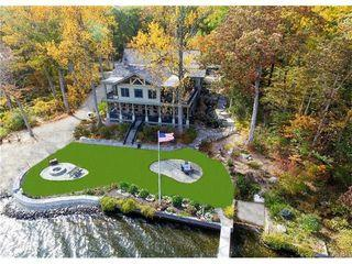 Aerial view of this gorgeous Lakefront Estate