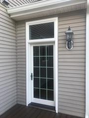 Here's one of the two patio doors installed on this Annandale, NJ home.