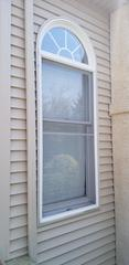 Here's a before shot of the Anderson windows to be replaced.