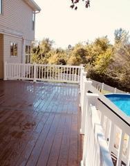 Timbertech deck installed in Wildwood, MO.