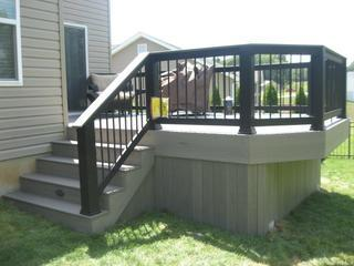 Timbertech Stone Ash deck in Glen Carbon, IL