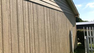 Lap and Groove siding.