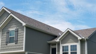 This is a close-up photo of the Duration Owens Corning roof.