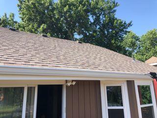Certainteed Landmark shingles installed on home.