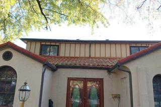 New DECRA metal roof installed.