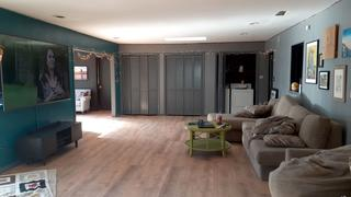 Living room with new life proof flooring.