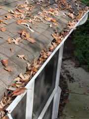 Traditional gutters collect leaves, pine needles, and debris ultimately clogging and overflowing. The weight of the water, debris, and ice in the colder months causes the gutters to sag and pull away as well. The overflowing gutters cause water to pool against the foundation and in garden beds, creating bigger headaches for homeowners.