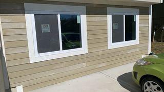 Two American Craftsman windows installed.
