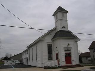 This is the Church in Dover, Delaware. It had major flooding and water damage in the basement.