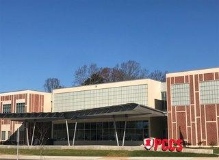 New campus off of Robinson Road