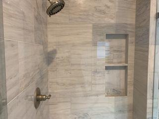 New shower installed.