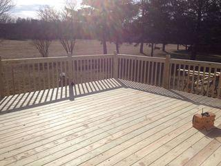 Our decks are built to New York State building codes.