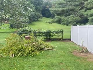 4' Black Chain Link Fence Installation