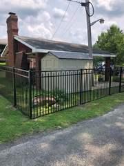 5' Black Aluminum Commercial Grade, 3 Rail, Wilmington Style, Flush Bottom, (2) 4' gates