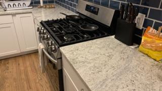 New granite countertops put in.