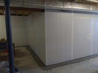 This basement is now moisture free!