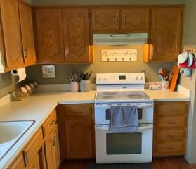 Kansas City, MO customer wanted all new appliances installed and to update interior of kitchen.