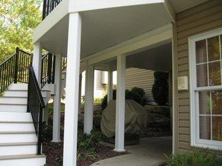Whether you want to use it for storage or living the space under your deck is great to use.