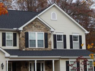 Certainteed Landmark Shingle in Moire Black color.