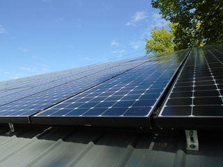 The array consists of 76 SunPower solar modules, at 245 Watts a piece.