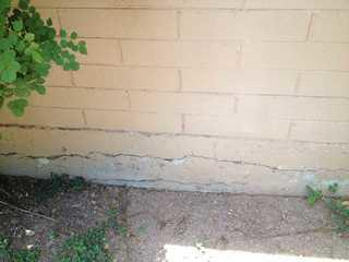 Exterior wall cracks are a sign of a foundation in need of repair