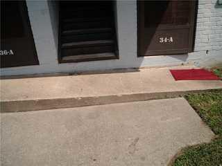 Uneven concrete can cause tripping hazards as well as problems with water settling after rain.