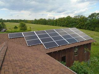 The peak production of the system will be on average 7,894.3 kWh per year after losses due to shading, orientation, season and weather.