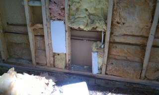How We Found This Wall Insulation in a Brule, WI Home