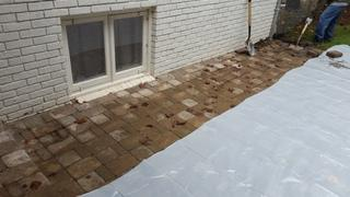 """The """"After"""" Picture of Customer Brian H.'s exterior wall."""