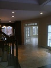 Foyer painting job in Trumbull, CT