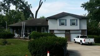 This homeowner was in need of some roofing services.  We ran out to give a free estimate!