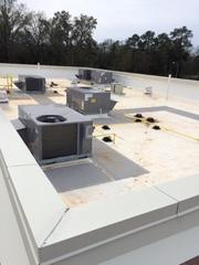TPO Roof completed on commercial project in Alabany Ga.