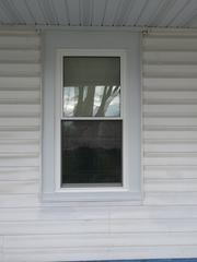 The new Sunrise window has been installed in this homeowner's home.