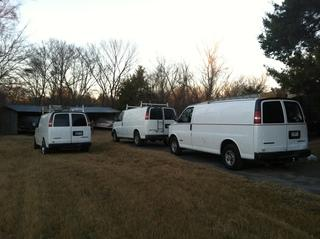 Our crew will arrive and get an early start on your project.
