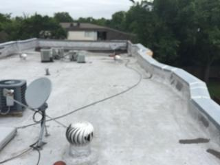 This old, worn down roof system required complete replacement.