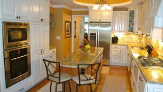 A beautifully renovated kitchen done by Ecostar Restoration & Renovations
