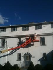 Exterior painting job done in West Haven.