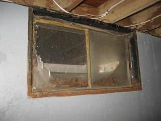"Before a new window is put in a basement, the homeowners are left with the old rotted windows. The ""industry standard "" windows are not only not energy efficient but they also easily rot."