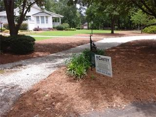 Another satisfied customer proudly displays our Cantey yard sign!