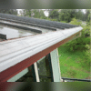 We installed a MasterShield gutter system for this metal roof in Bremerton, WA.