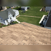 The homeowner called in because he had some missing shingles as shown in the picture. He decided to completely replace the roof and went with Owens Corning TruDefinition Duration shingles in the color Sand Dune.