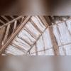 Open cell spray foam applied to garage stairway.