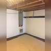 Along the porous foundation we placed a vapor barrier called CleanSpace. CleanSpace is similar to a pool liner and is designed to protect walls from water and mold growth. It is great for basement finishing since it will protect drywall or paneling from future damage.